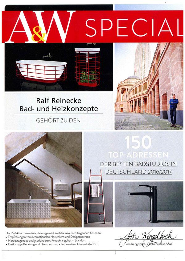 A&W Architektur & Wohnen Zeichnet Unser Haus Zum Vierten Mal In